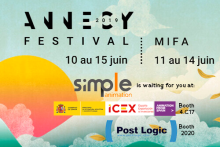 Siimple animation at MIFA Annecy